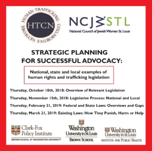 Human Rights & Trafficking Legislation: Federal & State Law Overviews & Gaps @ Institute of Public Health - Doll & Hill Room, 2nd Floor