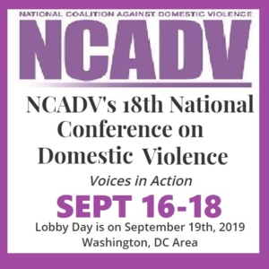 National Conference on Domestic Violence @ Washington DC