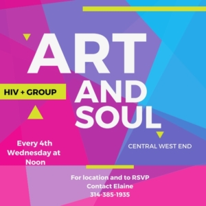 SUPPORT GROUP: Art & Soul @ Central West End