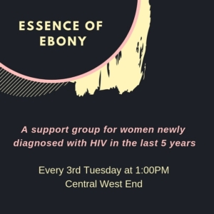 SUPPORT GROUP: Essence of Ebony @ Central West End